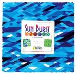 Benartex - Sun Burst Blue 10x10 Pack