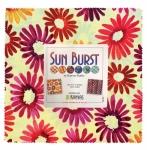 Benartex - Sun Burst Pink 10x10 Pack