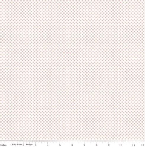 RILEY BLAKE - Kisses On White Color - Rose Gold