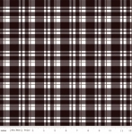 RILEY BLAKE - Glam Girl - Plaid Black Sparkle