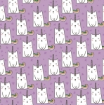 RILEY BLAKE - Caticorn - Lilac