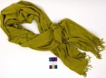 Yellow Bazaar Rayon Scarf by Studio M