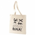Cut Pin Tote Bag