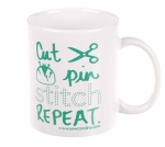 MUG - Cut, Pin, Stitch, Repeat Mug