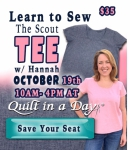 The Scout Tee October Class