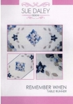 Sue Daley - Remember When Pattern