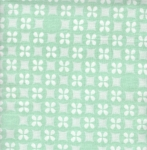 KAUFMAN - Little Prints Double Gauze - Mint - SL164-