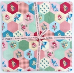 Poppie Cotton - Dots and Posies 10 Inch Squares (43 pcs