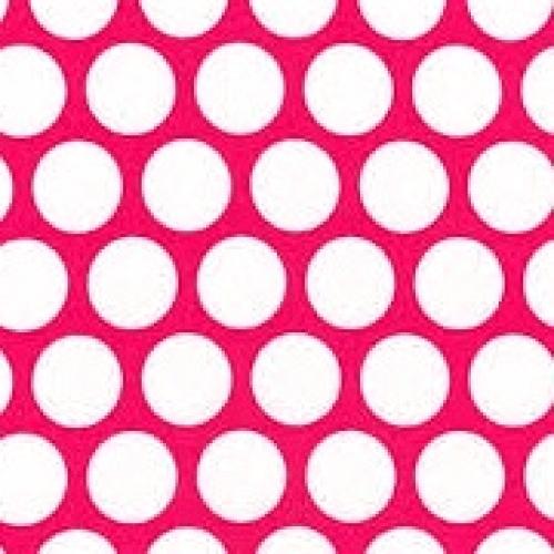 KAUFMAN - Spot On - Hot Pink - FB7085