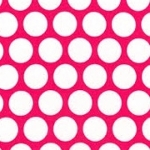 KAUFMAN - Spot On - Hot Pink - FB7085