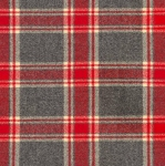 KAUFMAN - Mammoth Flannel - Red