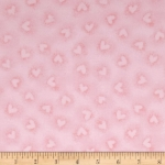 KAUFMAN - Baby Bunting - Pink Hearts FLANNEL