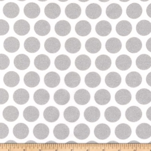 KAUFMAN - Spot On - Metallic - Silver - FB7080
