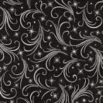KAUFMAN - Winter's Grandeur - Ebony