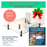 Light Up Your Holidays Large Table Package by Sew Steady