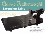 Classic Featherweight Extension Table by Sew Steady - Dropship