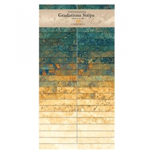 Northcott - Oxidized Copper Stonehenge Gradations Strips