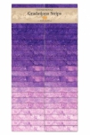 Northcott - Brights Amethyst Stonehenge Gradations Strips
