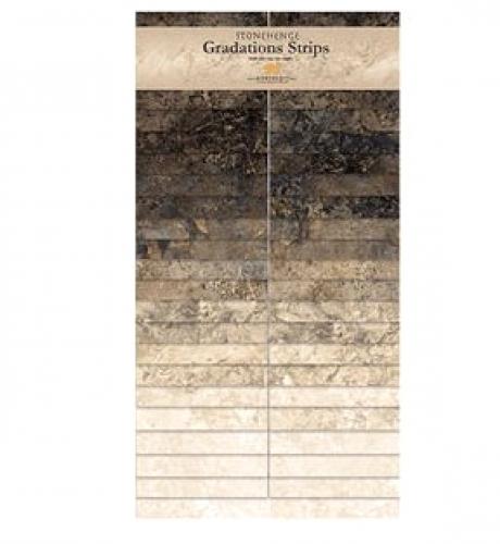 Northcott - Slate Stonehenge Gradations Strips