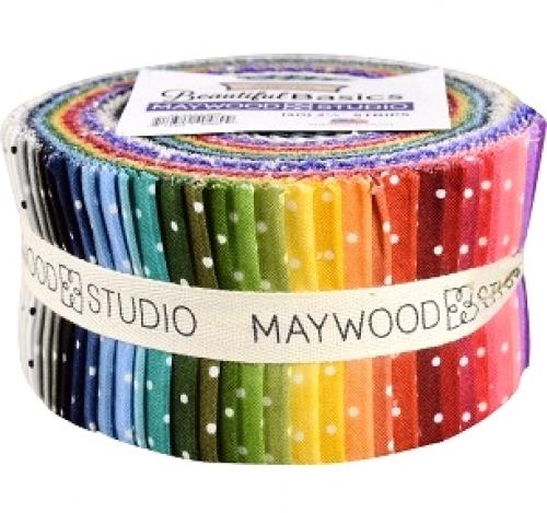 Beautiful Basics Classic Dot 2.5 in Strips Maywood Studio