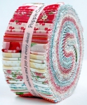 Poppie Cotton - Dots and Posies 2.5 Inch Strips (43 pcs)