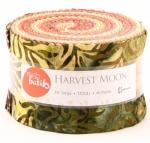 Harvest Moon Fresh Batiks 2.5 inch Strip Roll Clothworks