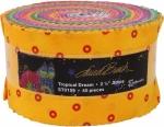 Laurel Burch Tropical Dreams 2.5 inch Strip Roll Clothworks
