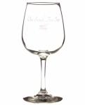 One Stitch -Two Sips Wine Glass by Stitch Happy
