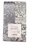 Benartex - Better Basics Gray/White 2.5 Inch Strip-Pies 40 pcs
