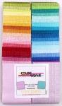 Benartex - Color Weave Strip-Pies 2.5 Inch Strips