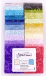 Benartex - Classic Scroll & Blenders 2.5 Inch Strip-Pies