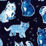 DEAR STELLA - Indigo Cats - Multi