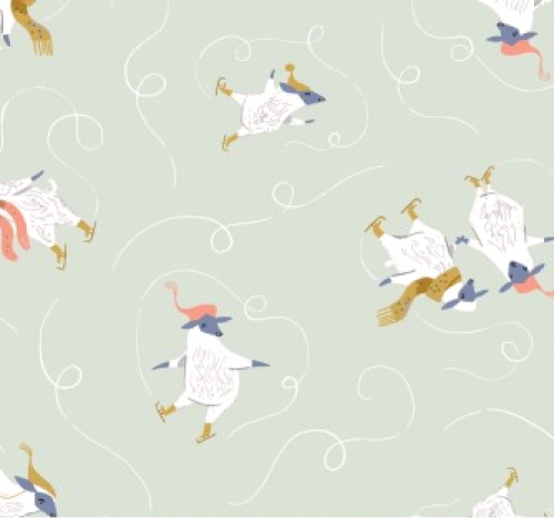 DEAR STELLA - Cotton Shirting - Skaters
