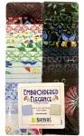 Benartex - Embroidered Elegance 2.5 Inch Strip-Pies 40 pcs