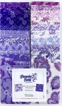 Benartex - Lavender Fields 2.5 inch Strip-Pies 40 pcs