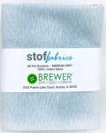 Stof - Medium Grey Fat Quarter Bundle 9pk