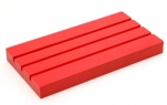 Red Ruler Pal 4 x 7.5 by Pleasant Home