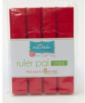 Red Mini Ruler Pal 4 x 5.5 by Pleasant Home