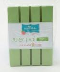 Green Apple Mini Ruler Pal 4 x 5.5 by Pleasant Home
