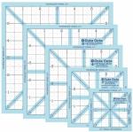 Lori Holt Trim-It Square Ruler Pack - 2.5, 3.5, 4.5, 5.5, 6.5