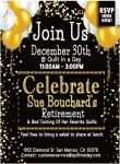 Celebrate with Sue Bouchard