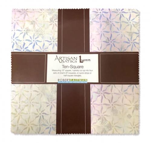 Kaufman - Artisan  Batiks: Noel Ten inch Squares