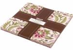 Kaufman Ten Squares - Botanical Bliss Rose