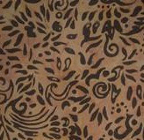 BATIK TEXTILES - Batik - Brown - K50052-