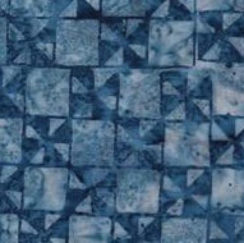 BATIK TEXTILES - Batik - Blue - K85083-