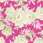 TILDA FABRICS - Lemon Tree - Hummingbird - Plum #4