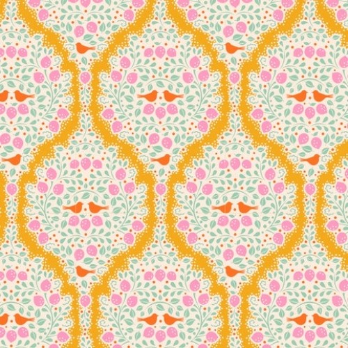 TILDA FABRICS - Lemon Tree - Lemonade - Yellow