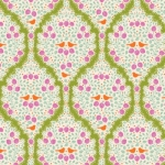 TILDA FABRICS - Lemon Tree - Lemonade - Green