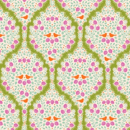 TILDA FABRICS - Lemon Tree - Lemonade - Green #15