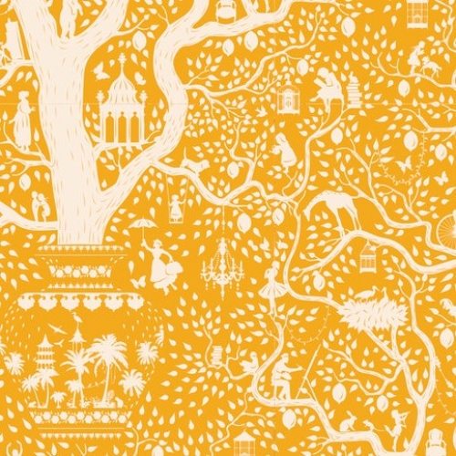TILDA FABRICS - Lemon Tree - Lemontree - Yellow